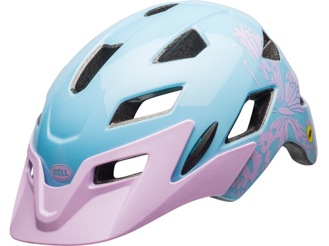 Bell Sidetrack MIPS Helmet Youth cmyk/lilac